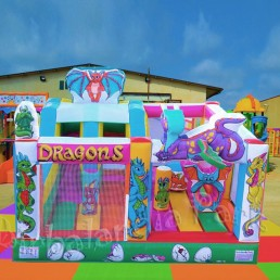 Multiplay Dragons springkasteel verkoop