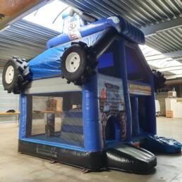 Springkasteel Tractor